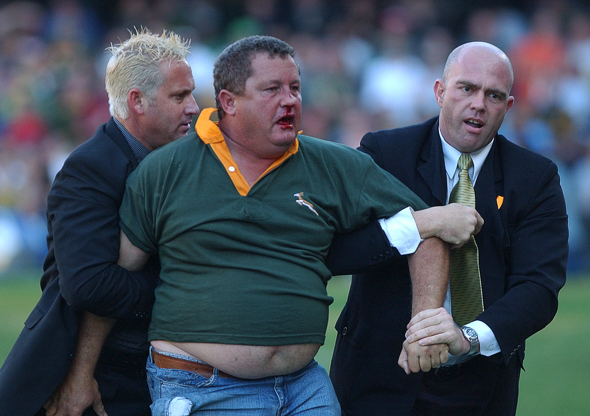 South Africa - famous the world over for its rugby passion.